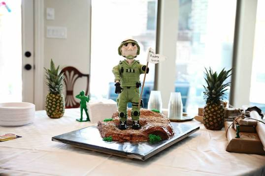 army solider cake