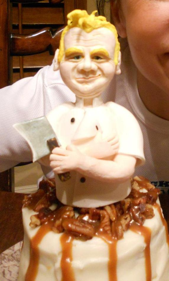 gordan ramsey sculpture
