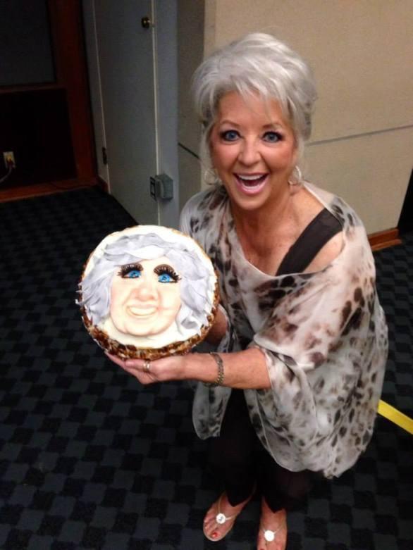 paul deen cake